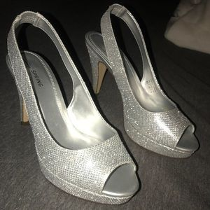 Other - silver heels